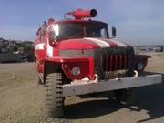 Урал-4320 пожарный.