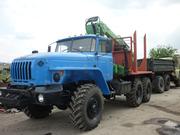 Продам Урал лесовоз с ГМ